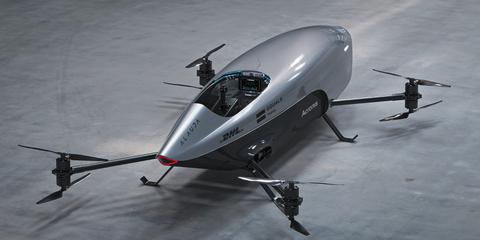 airspeeder coche volador