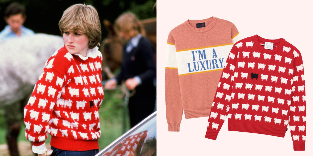 You Can Now Buy Princess Diana's Exact Sweaters
