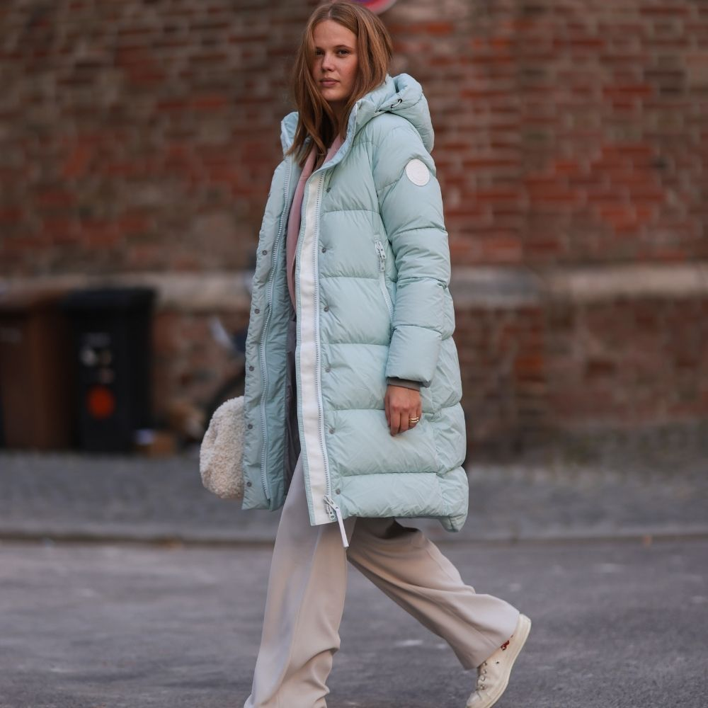 3 ways to style a puffer coat for the new season