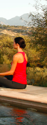 Physical fitness, Water, Sitting, Meditation, Leisure, Yoga, Leg, Tree, Recreation, Landscape,