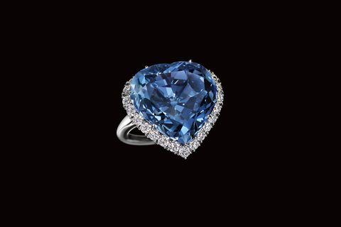 eugenie blue heart diamond《ウージェニー・ブルー・ハート・ダイヤモンド》。