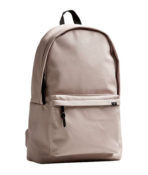 Backpack, Bag, Product, Khaki, Beige, Brown, Fashion accessory, Luggage and bags, Handbag, Leather,