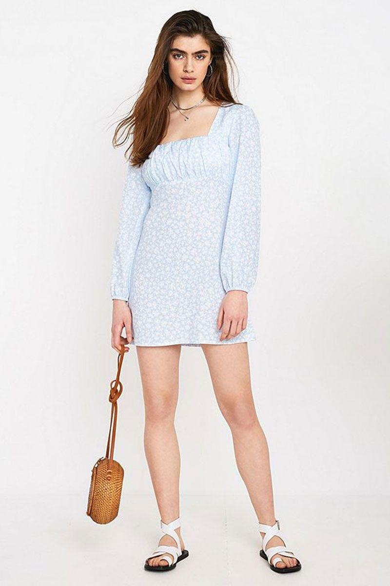 154ceea2d6d358 Topshop Leopard Print Tea Dress