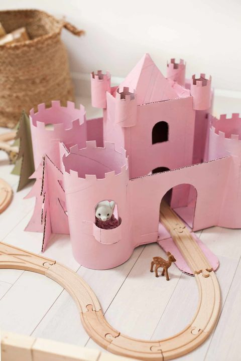diy valentine's day boxes princess castle
