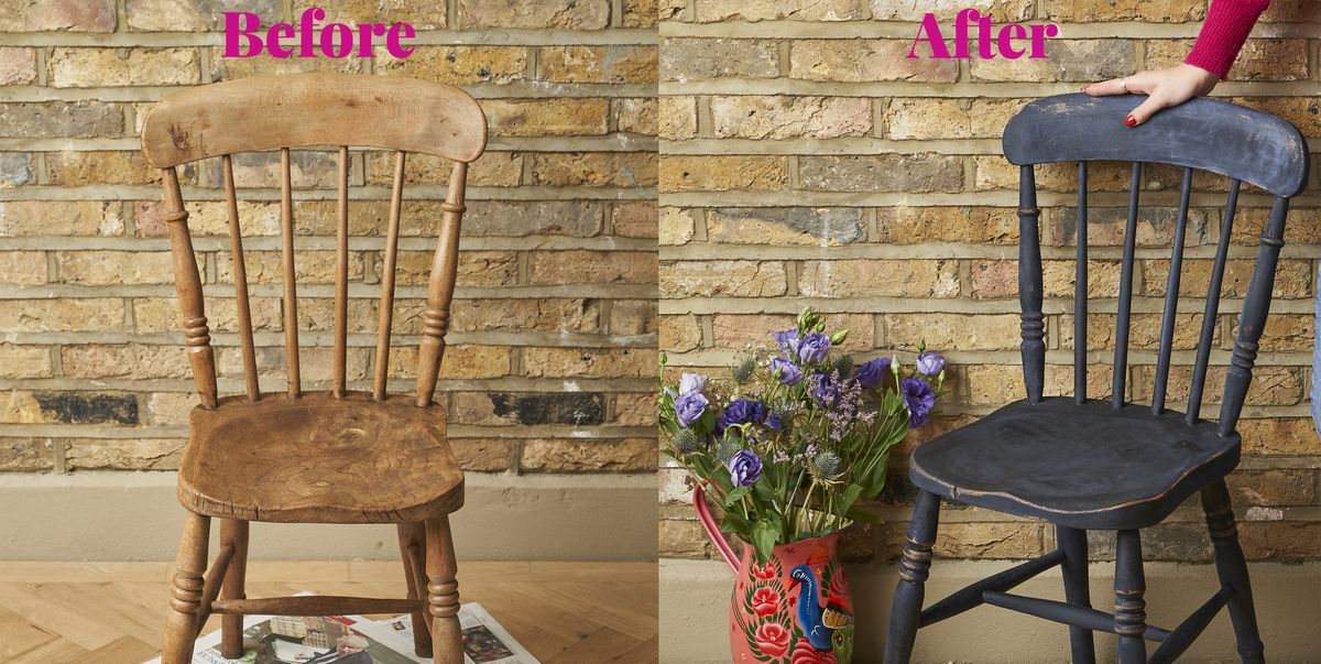 The easy way to upcycle a wooden chair