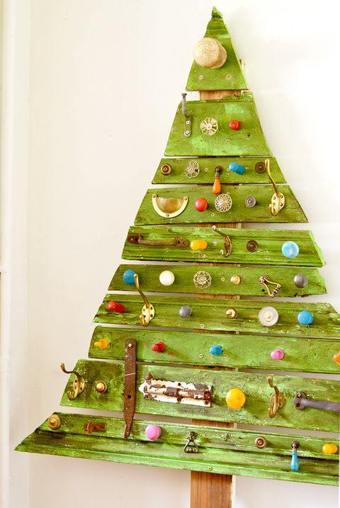 upcycled pallet christmas tree - Wood Pallet Christmas Tree