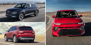 10 Non-Hybrid Crossovers and SUVs Get the Highest MPG