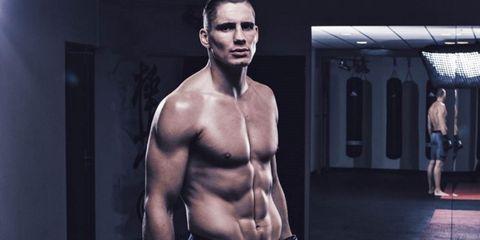 Barechested, Bodybuilder, Muscle, Shoulder, Bodybuilding, Abdomen, Arm, Chest, Fitness professional, Chin,