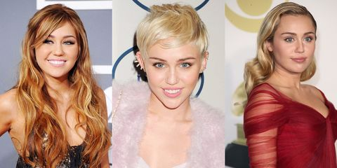 Miley Cyrus\' Best Hairstyles of All Time - 66 Miley Cyrus Hair Cuts ...
