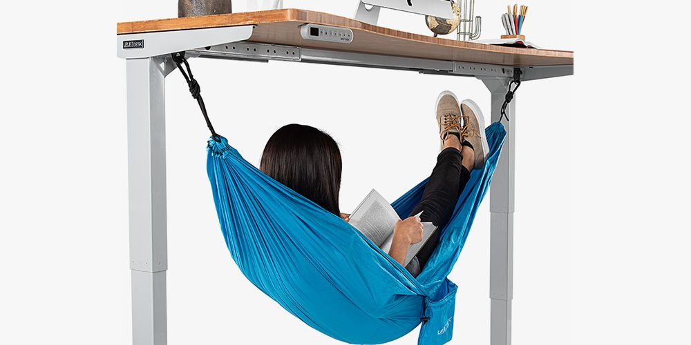This Under Desk Hammock Will Let You Nap In The Office