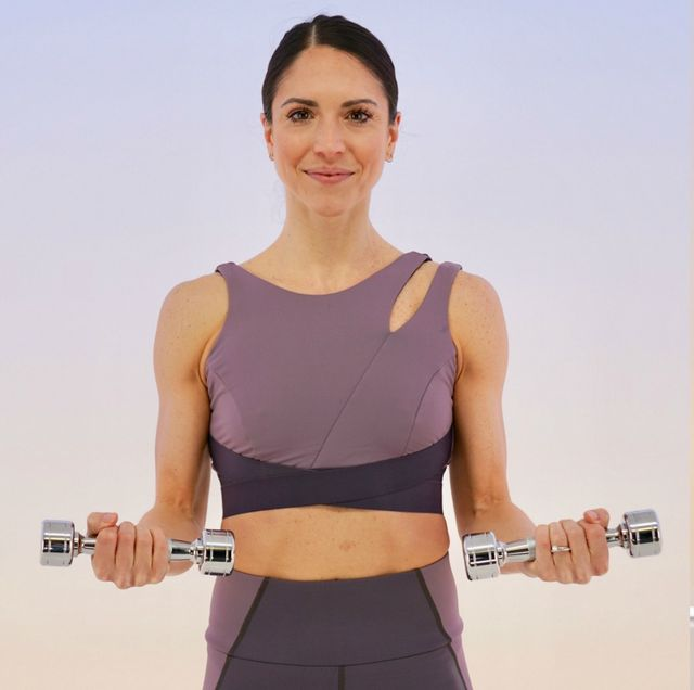 Upper Body Workout - Tone Arms, Chest, Shoulders, Back