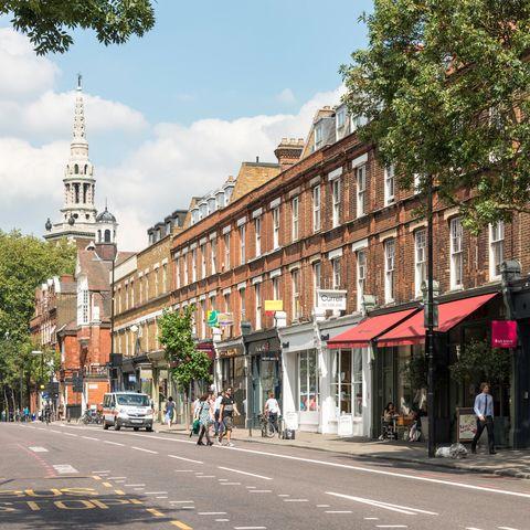 Upper Street, Islington, London Borough of Islington, London