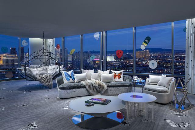 hotel più costosi al mondo, empathy suite, palms casino resort di las vegas   damien hirst