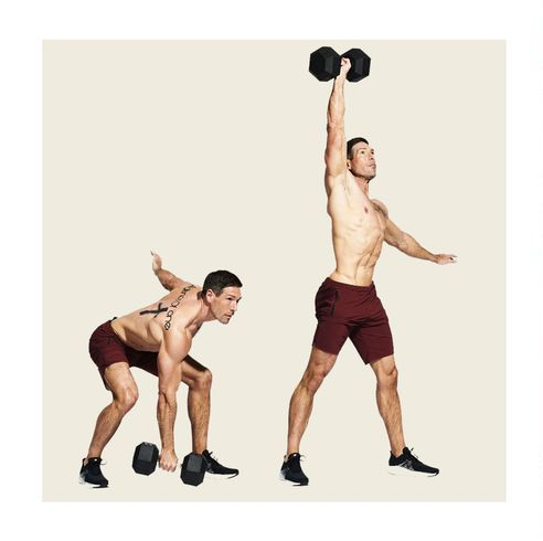 Exercise equipment, Physical fitness, Shoulder, Arm, Weights, Barbell, Muscle, Leg, Joint, Sports equipment,