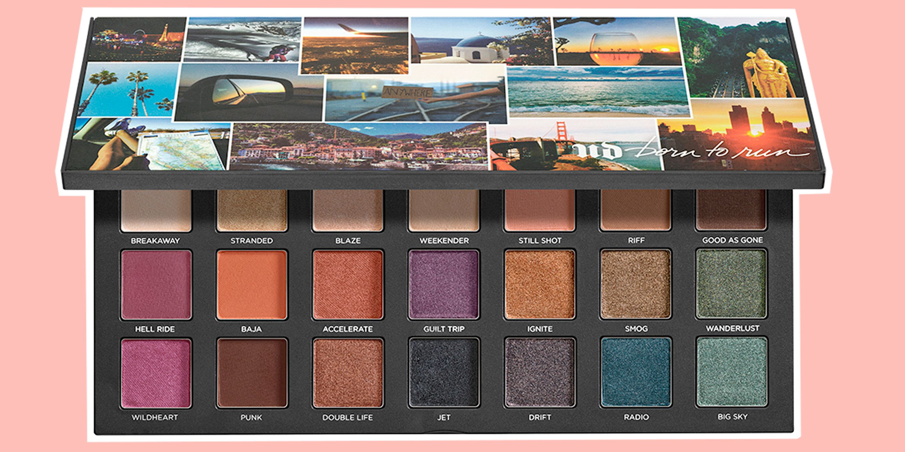 Urban Decay Born To Run Eyeshadow Palette - Full review, swatches AND flash sale details