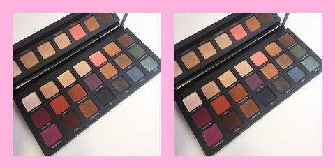 urban decay born to run eyeshadow palette full review swatches