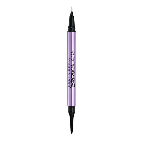 Pen, Purple, Writing instrument accessory, Violet, Writing implement, Office supplies, Eye liner, Eye,