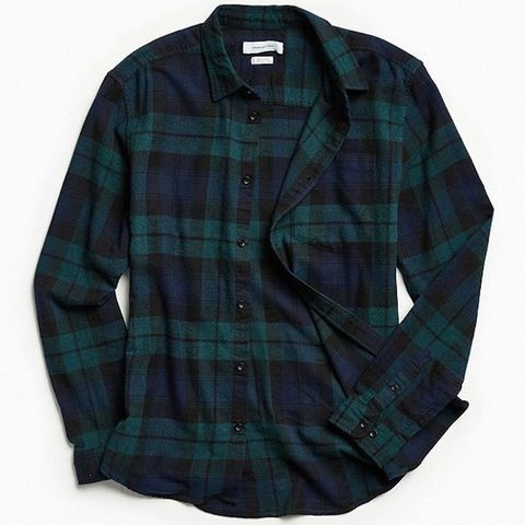 UOPLaid flanel button down