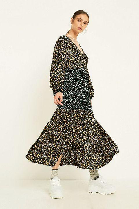 floral dresses for autumn
