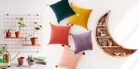 Cushion, Pillow, Furniture, Throw pillow, Room, Yellow, Textile, Bedding, Linens, Font,