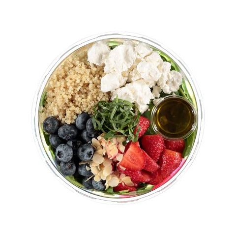 Gezonde salade van urban salad