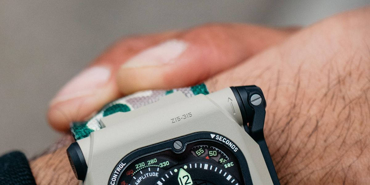 This Watch Looks Like Something That Special Forces of the Future Would Wear