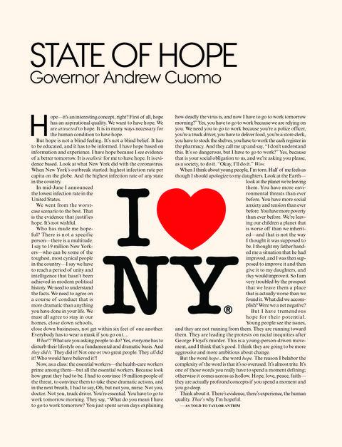 eén van de 26 hoopgevende beelden van het vogue global hope issue, uitgekozen door alle hoofdredacteuren