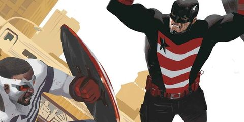 Captain america, Fictional character, Superhero, Hero, Fiction, Supervillain, Suit actor, Illustration,