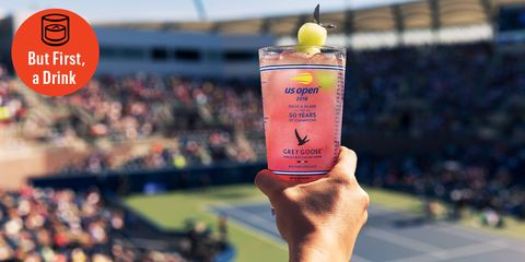 How to Make a Grey Goose Honey Deuce Cocktail for the U.S. Open