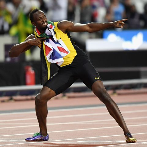 designer fashion select for genuine new list Usain Bolt Promotes Olympe Rosé Champagne with New Music Video