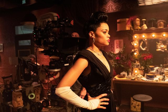 andra day on the set of the united states vs billie holiday from paramount pictures photo credit takashi seida