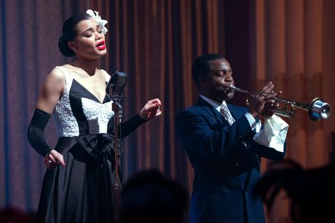 andra day and kevin hanchard in the united states vs billie holiday from paramount pictures photo credit takashi seida