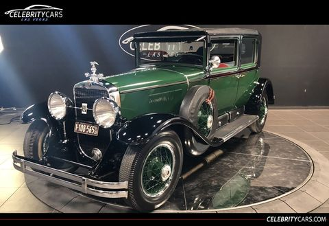 Al Capone's 1928 Cadillac V8