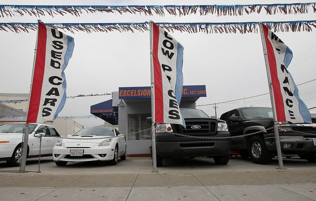 average price of used cars rises