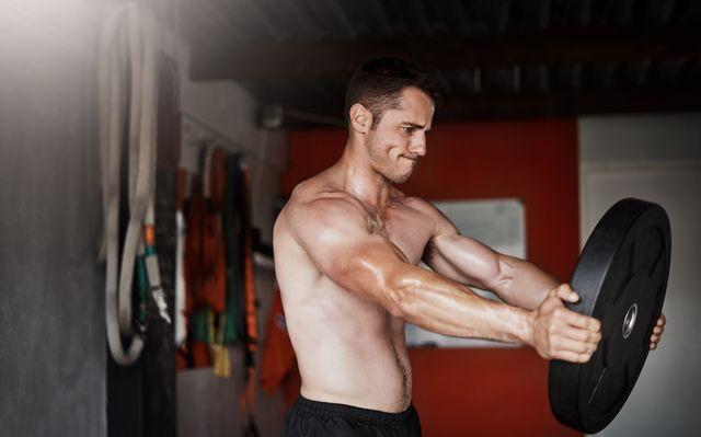 entrenamiento de brazos