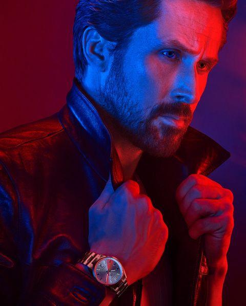 ryan gosling wearing tag heuer watch