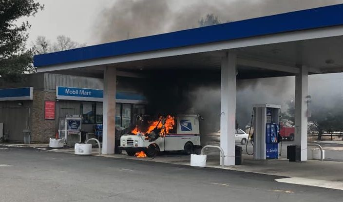 U S  Postal Service Trucks Are Catching Fire - Details about