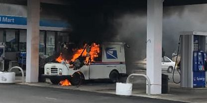 The U.S. Postal Service Doesn't Know Why Its Trucks Keep Catching on Fire