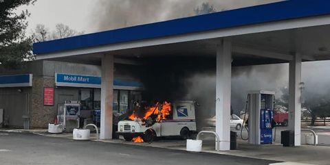 U S Postal Service Trucks Are Catching Fire Details About The