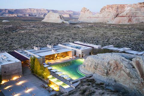 Natural landscape, Sky, Tourism, Landscape, Architecture, Mountain, Vacation, Building, Rock, City,