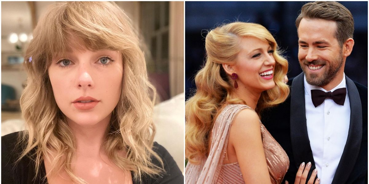 """Fans Think Taylor Swift Revealed the Name of Blake Lively and Ryan Reynolds' Baby on New Song """"Betty"""" – Cosmopolitan.com"""
