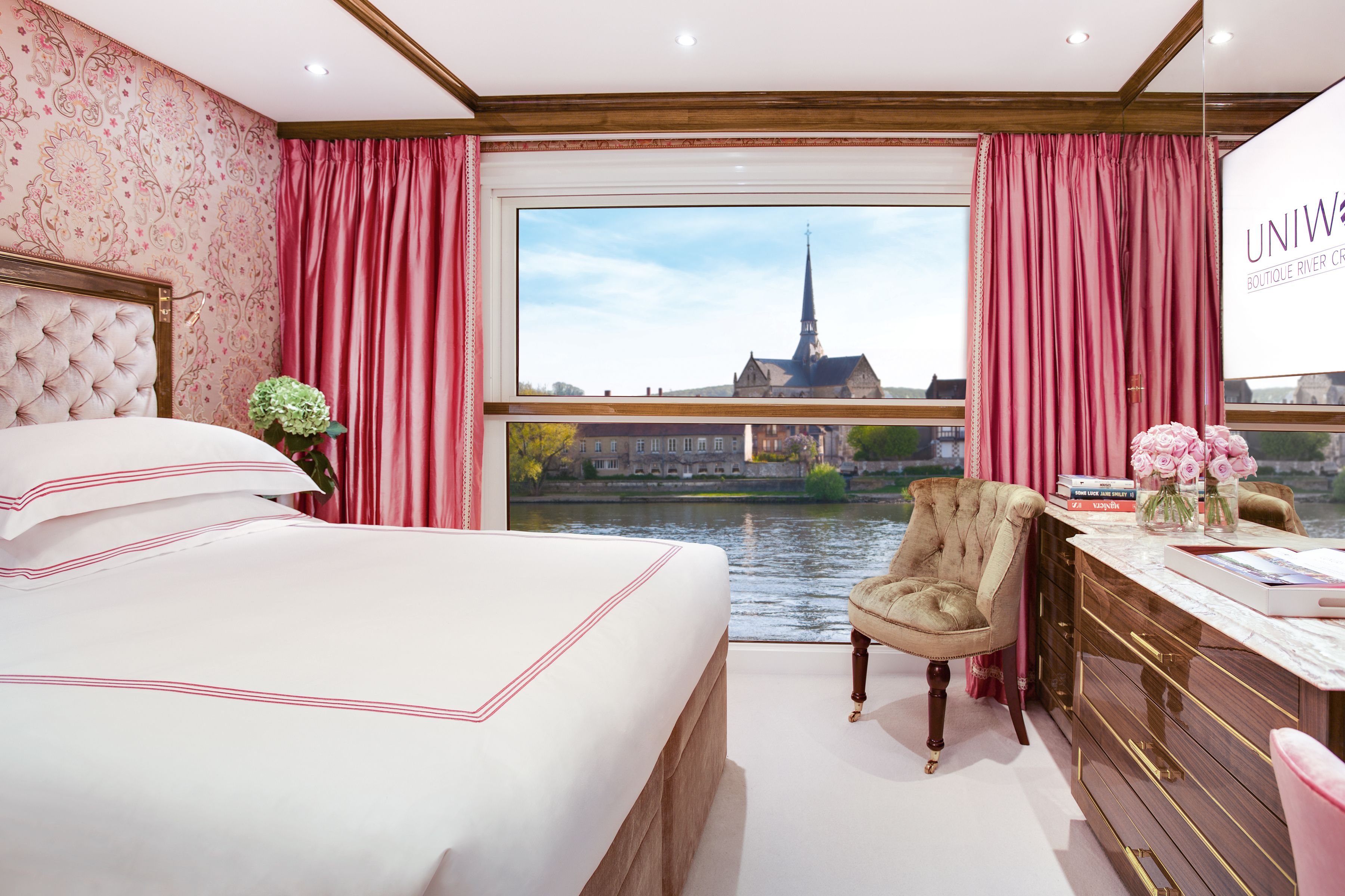 the ss joie de vivre is the first of its kind to sail the seine river