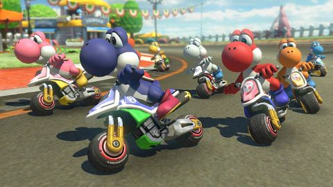 Race track, Vehicle, Road racing, Toy, Fun, Motorsport, Motorcycle, Racing, Games, Fictional character,