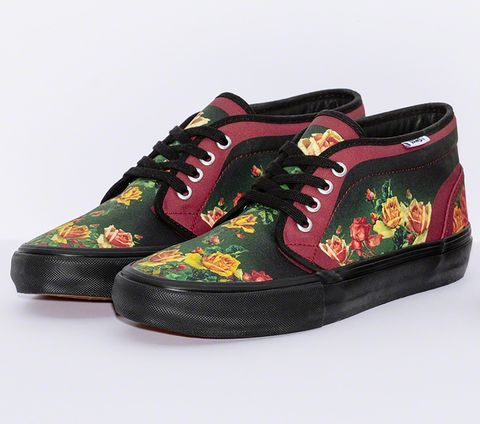d5a44553db Supreme x Jean Paul Gaultier Collaboration Vans Era and Chukka Sneakers