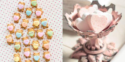 Sweetness, Cuisine, Food, Ingredient, Dessert, Pink, Recipe, Finger food, Baked goods, Confectionery,