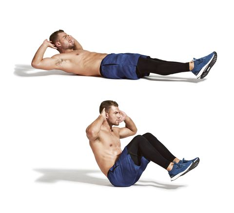 Abdomen, Arm, Leg, Crunch, Joint, Muscle, Knee, Trunk, Chest, Elbow,