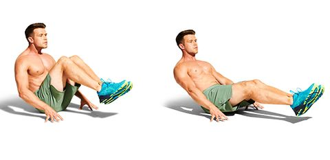 arm, abdomen, muscle, sitting, leg, crunch, board short, sit up, press up, exercise,