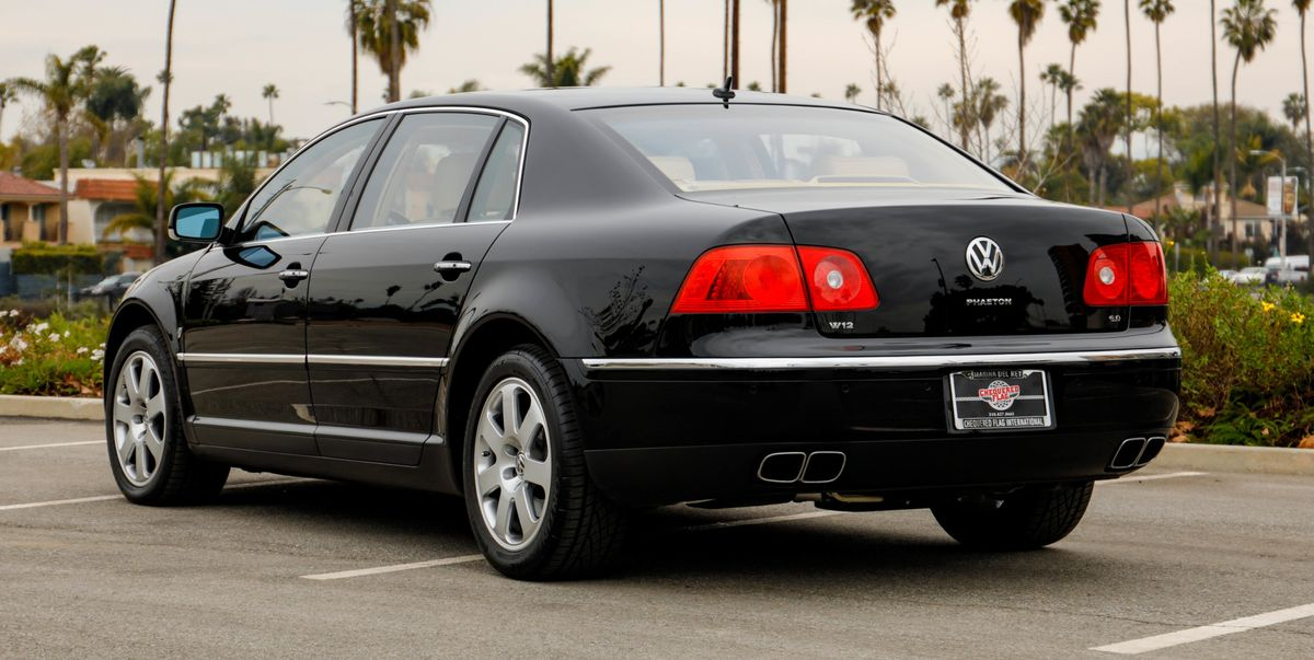 2004 volkswagen phaeton w12 for sale rare 12 cylinder. Black Bedroom Furniture Sets. Home Design Ideas