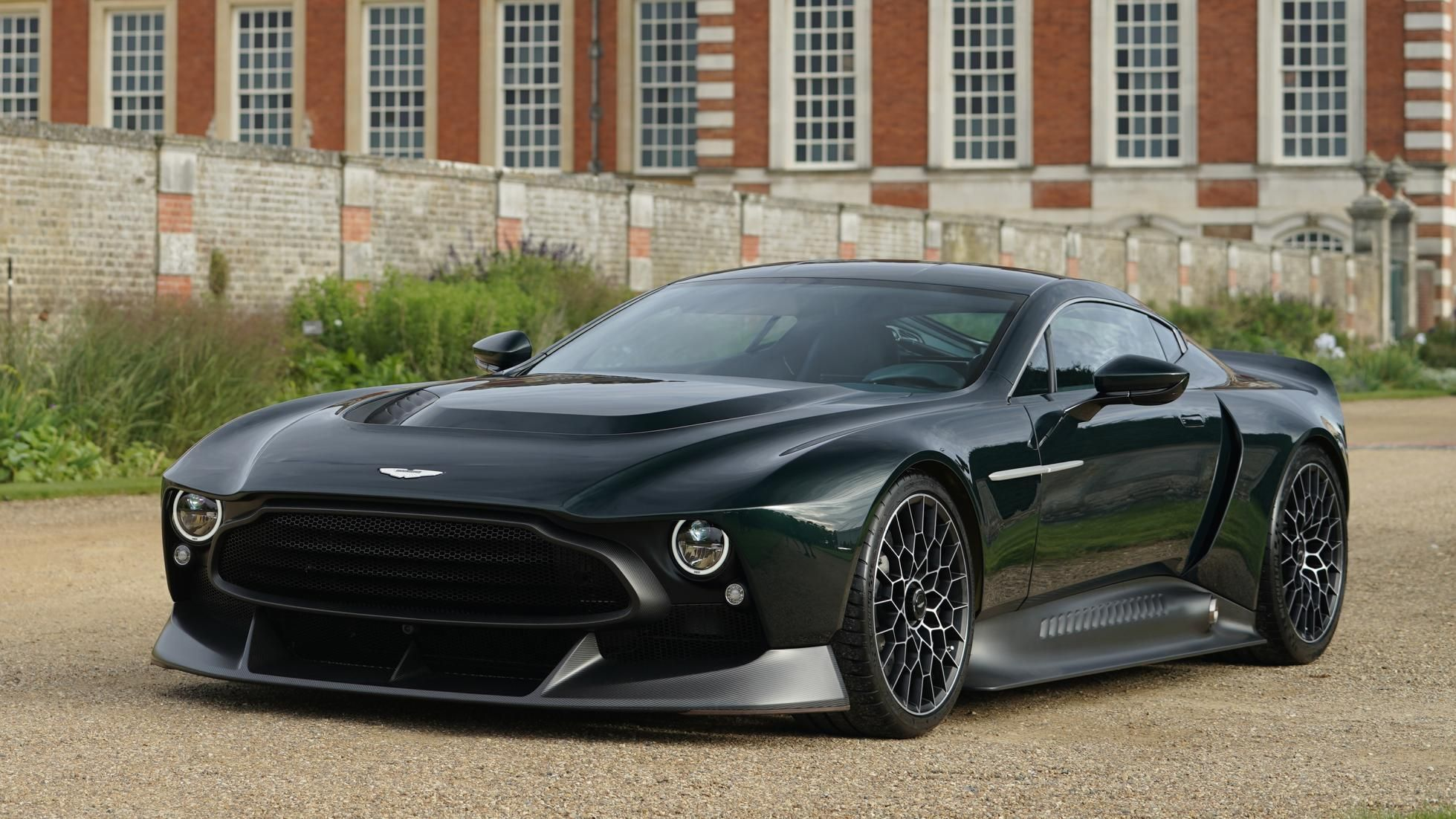 Aston Martin Victor One Off Revealed V 12 Aston With 848 Hp