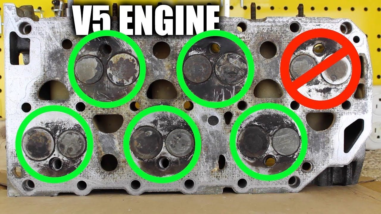 the crazy engineering that made volkswagen's v5 engine work v5 engine diagram v5 engine diagram #1